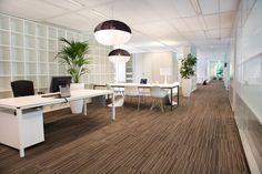 VBK Uitgevers in Utrecht, The Netherlands New Way of Working interior design by their company DNA.  Designed by Tarzan projekten.