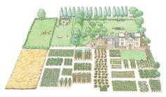 Como hacer una granja autosuficiente en media hectárea
