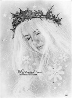 "Katerina Koukiotis - ""Winter Starlight""  https://www.facebook.com/TheRabbitHoleArtistCollective/photos/a.1540927652790727.1073741877.1429942497222577/1541163009433858/?type=3&theater"