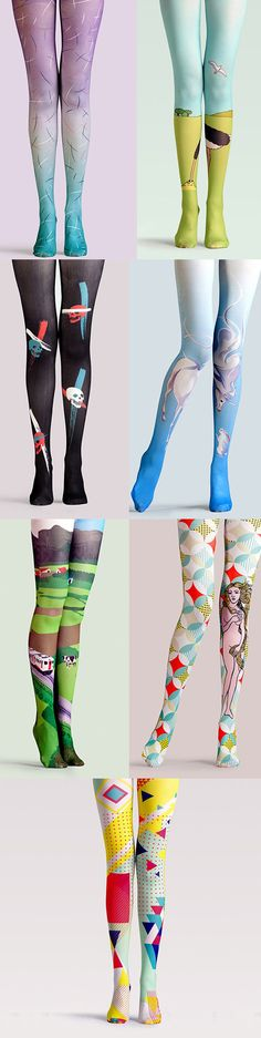 Cute alert: High Waist Tights with very adorable prints. Multiple colors, vibrant patterns. Have fell in love with these tights. Cutest tights ever!!! Click to find more choices.