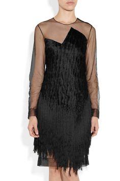 Alexander Wang. Fringe dress.