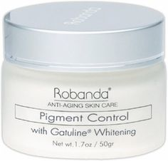Robanda Pigment Control, Large 2 ounce (60 grams) Jar. Hydroquinone-Free Formula. by Robanda. $14.99. Hydroquinone Free Formula. Advanced Retinol A. Helps to fade brown marks, freckles, skin discoloration and hyperpigmentation caused by sun, pregnancy and aging. Events out skin tones. Gatuline Whitening. Active ingredient Gatuline® Whitening helps fade brown marks, freckles, skin discoloration (hyperpigmentation) and evens out skin tone. The first product worldwide t...