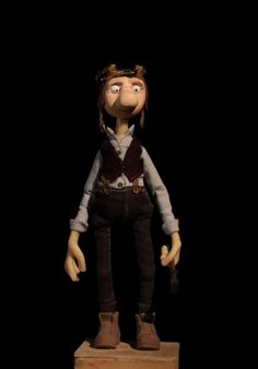 Apprentice #maquette #puppet Turnaround by Simon Furdal for the stop-motion film Warp