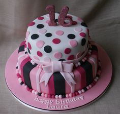 two tier 16 cake