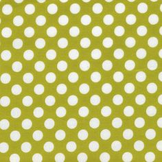 Michael Miller  Celery Ta Dot  1 Yard by PKFabulousFabric on Etsy, $8.00