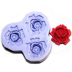 Longzang mini Flower F0201 Fondant Mold Silicone Sugar mold Craft Molds DIY gumpaste flowers Cake Decorating *** See this great product.(This is an Amazon affiliate link and I receive a commission for the sales)