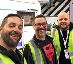 A HUGE thank you to everyone who visited the NEC Motorhome and Caravan Show and said hello to Viscount Leisure team members Will on the Bailey of Bristol stand, Neil on the Swift Stand, and John on the Elddis Stand. Viscount, Team Member, Caravans, Happy Campers, Motorhome, Bristol, Swift, Events, Rv