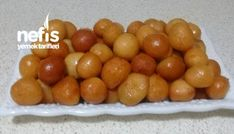 Lokma Tatlısı (çankırı Yöresine Ait). Food And Drink, Fruit, Recipes, Bakken, The Fruit, Recipies, Recipe