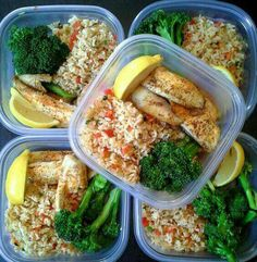 Lunches for the man