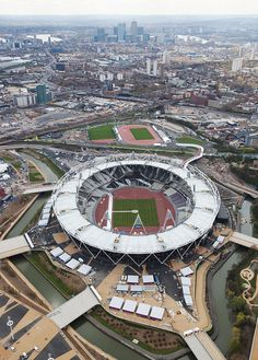 London 2012 Olympic Park, April 2012 by onehourleft, via Flickr