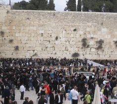 The Wailing Wall (Western Wall), Jerusalem