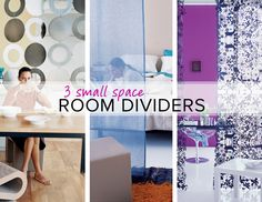 3 small-space room dividers on domino.com