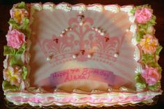 A cake fit for a princess.
