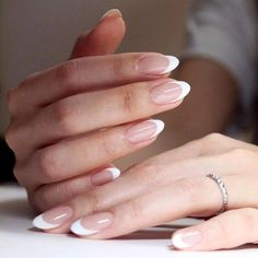 Trendy Nails French Manicure Designs Tips Trendy Nails French Manicure Designs TipsYou can find French tips and more on our Trendy Nails F. French Manicure Gel, Ongles Gel French, French Manicure Designs, Pink Manicure, Pink Nails, Gel Nails, Nails Design, Polish Nails, Coffin Nails