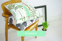 tree pillow! i'm in love. | Scandinavian Design Collective: Kauniste.
