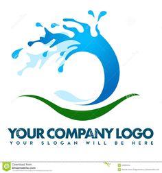 Water Splash Logo by Nadia Watsica