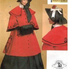 Authentic Dickens Caroler costume pattern