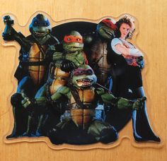 Partners In Kryme – Turtle Power shaped vinyl picture disc