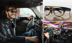 Mini's augmented reality glasses add visual extras to the dashboard