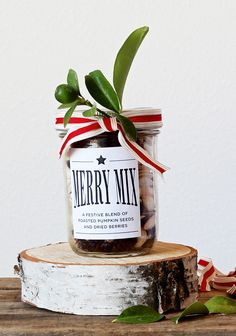 A very merry mix -love the packaging!