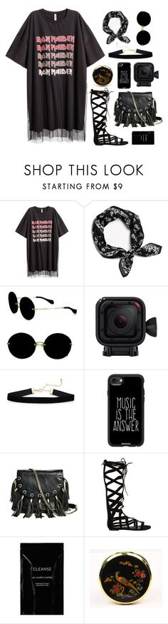 """""""FESTIVAL MUSIC FASHION"""" by askhaerunisa ❤ liked on Polyvore featuring rag & bone, Miu Miu, GoPro, Casetify, GUESS by Marciano, Steve Madden, Cleanse by Lauren Napier and festivalfashion"""
