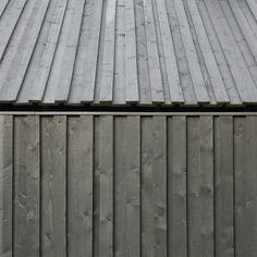 The Black Shack, designed by architect Andris Kronbergs for ARHIS. Jurmula in Latvia.