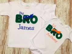 Turtle Power Brother Set by LillysBowtique on Etsy, $37.00