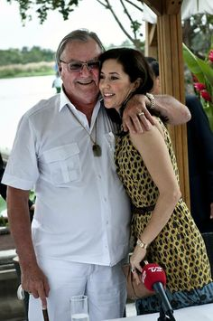 Prince Henrik and Princess Mary.