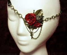 Steam punk glamor eye patch