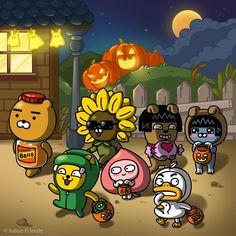 Friends Gif, Line Friends, Kawaii Wallpaper, Wallpaper Iphone Cute, Kakao Friends, Friends Wallpaper, Cute Cartoon Wallpapers, Kawaii Drawings, Cute Characters