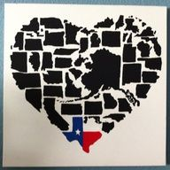 You see, Texas is the heart of this nation :P
