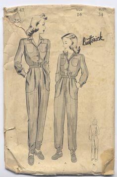 1939-1945 – World War II – Utility Clothing Era | silverquill28