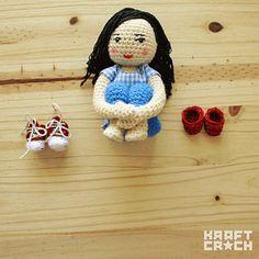 kraftcroch: ❤ Dorothy's Red Shoes Amigurumi