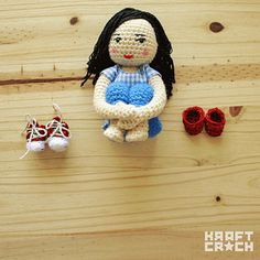 ❤ Dorothy's Red Shoes Amigurumi    ❤ Dorothy's Red Shoes Amigurumi    El precioso amigurumi creado por Kraft Croch para el blog Dorothy's Red Shoes ( www.dorothysredshoes.es )