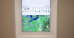 Raspberry Pi Framed Informational Display - Google Calendar, Weather, and More.. - Album on Imgur