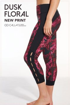 Strut your stuff in the CALIA by Carrie Underwood Women's Essentials Open Slit Capris. A smoothing three-layer waistband with power mesh provides comfort and side slits deliver strategic ventilation. Calia By Carrie, Legs For Days, Gym Gear, Carrie Underwood, Workout Wear, Yoga Inspiration, Capri, Essentials, Sparkle