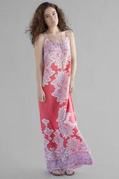 Montego Paisley Maxi Dress- great for summer & love the open back