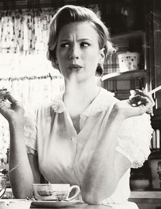 January Jones in Mad Men - so much love #amazingstyle