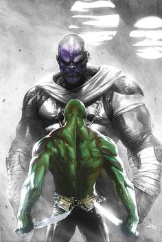 Thanos vs. Drax, O Destruidor.