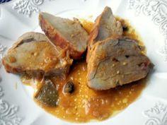 filetto di maiale alla senape e all'arancia                      #recipe #juliesoissons