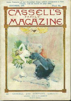 Nov 1897 Cassell's Family magazine vintage cover