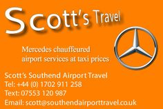 "Scott's Airport Taxi on Twitter: ""#Clacton on Sea #Airport Taxi #Chauffeur…"