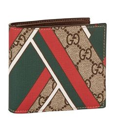 cd82ca20c289 GUCCI Gg Chevron Wallet. #gucci #bags #leather #wallet #canvas #accessories  #