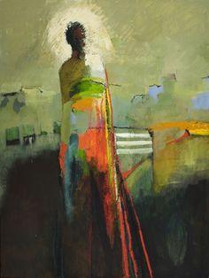 Sue Greenwood Fine Art | Artwork by Kathy Jones | Turning Away