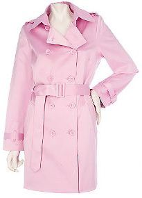 5 Colorful trench coats for spring- love The New York and Company Green Trench