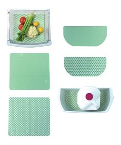 Another great find on #zulily! Palm Fridge Liner Pack by Fridge Coaster #zulilyfinds