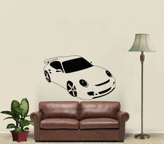 Sport+Car+Auto+Automobile+Housewares+Wall+Vinyl+by+SuperVinylDecal,+$24.99