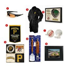 8 Great Father's Day Gift ideas for the avid Pittsburgh Pirates Fan! See all of our Pirates gifts at http://www.topnotchgiftshop.com/pittsburgh-pirates.html