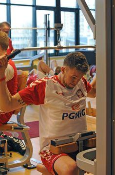 AD2013 January Kamil Syprzak – trening na siłowni Arena Ursynów Warszawa –przed wyjazdem na New Year Cup 2013 Czechy