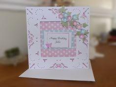 Birthday.....Crafters Companion Diesire 'Create-a-Card' Metal Die - Decadence